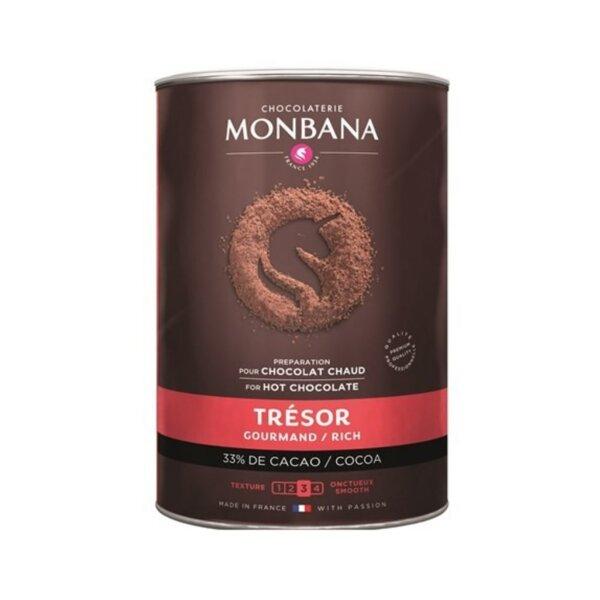 Топъл шоколад – Monbana Classic 33% – Франция, 1 кг