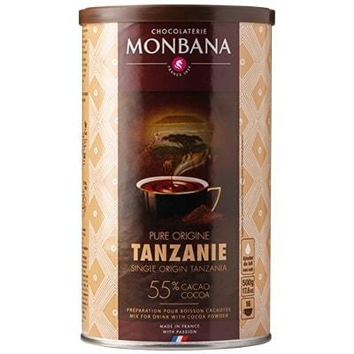 Топъл шоколад – Monbana Tanzania 55% – Франция, 500 г