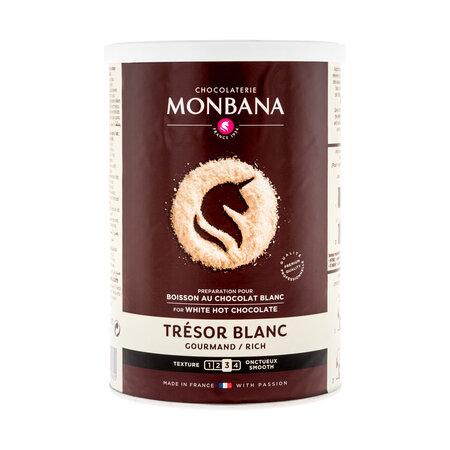 Топъл шоколад – Monbana Tresor Бял 40% – Франция, 500 г