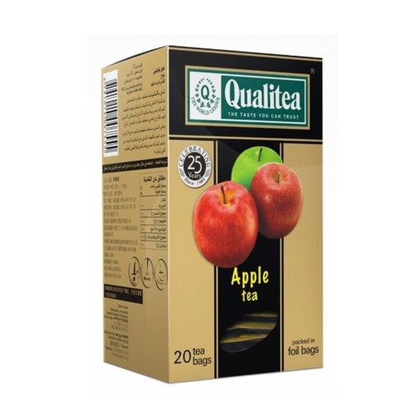 Черен чай – Qualitea Apple – 20 сашета