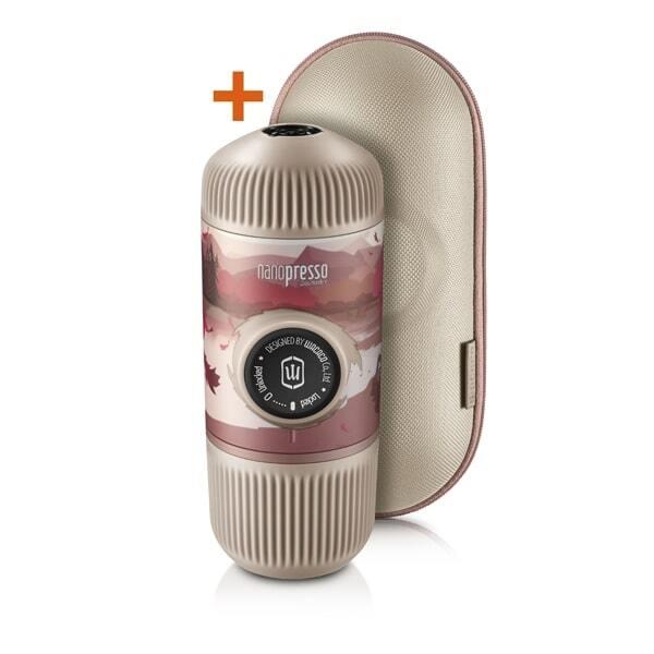 Wacaco Nanopresso Journey Break + калъф – Преносима портативна машина за еспресо