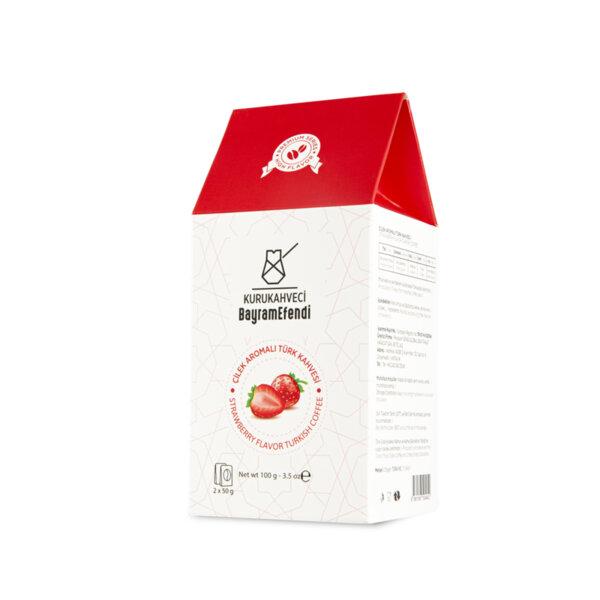 Турско кафе BAYRAMEFENDİ с аромат на ягода 100 г