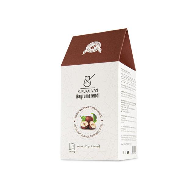Турско кафе BAYRAMEFENDİ с аромат на лешник 100 г