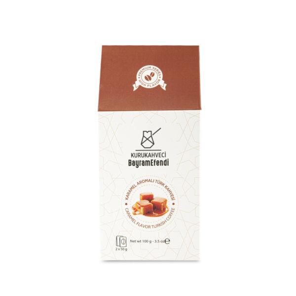 Турско кафе BAYRAMEFENDİ с аромат на карамел 100 г