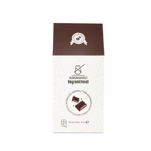 Турско кафе BAYRAMEFENDİ с аромат на шоколад 100 г