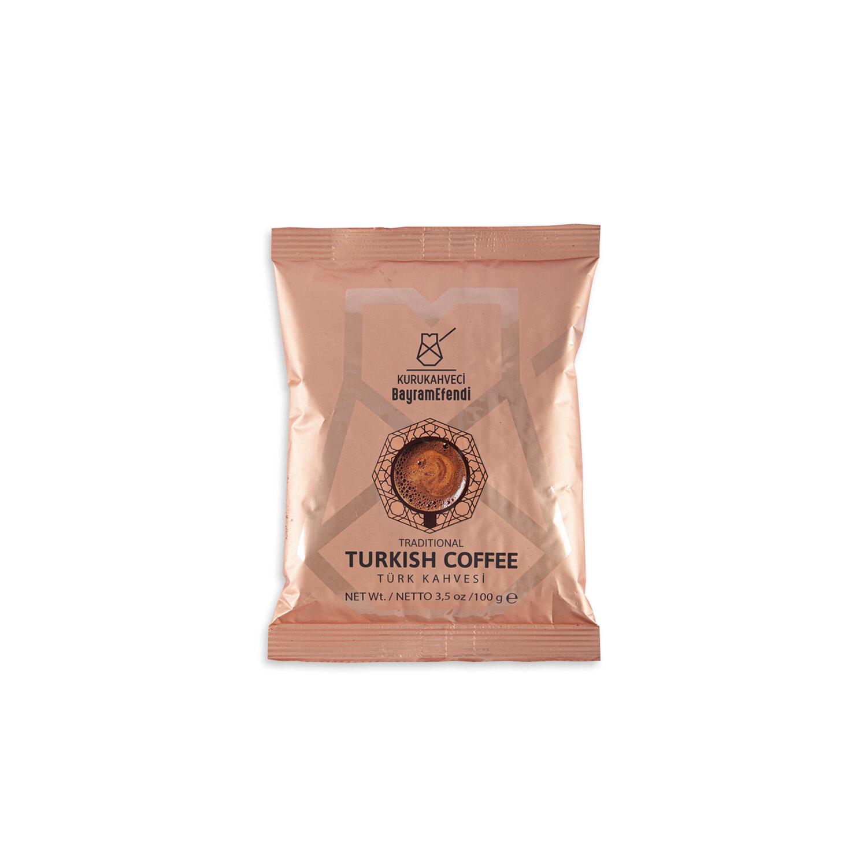 Турско кафе BAYRAMEFENDİ KURUKAHVECİ с различни видове 50 г