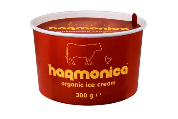 Био шоколадов сладолед harmonica 300 гр.