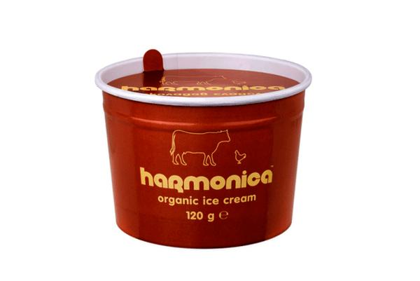Био шоколадов сладолед harmonica 120 гр.