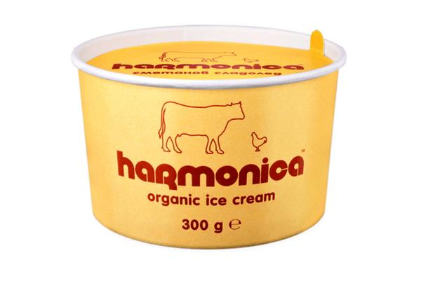 Био сметанов сладолед harmonica 300 гр.