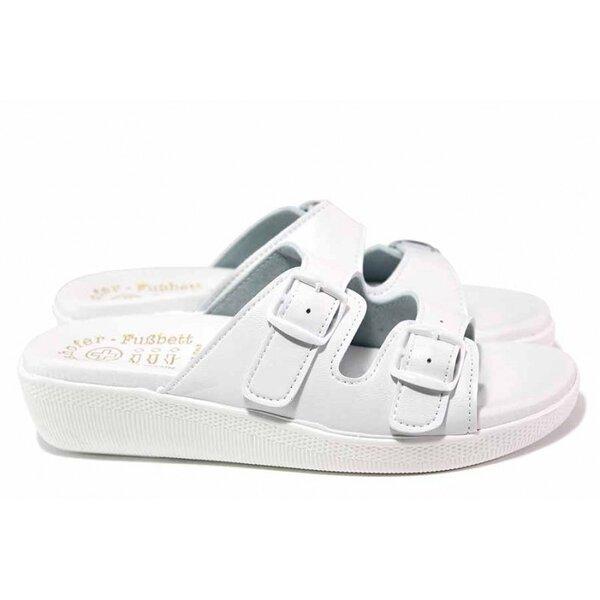 Анатомични чехли с каишки за регулиране на ширината