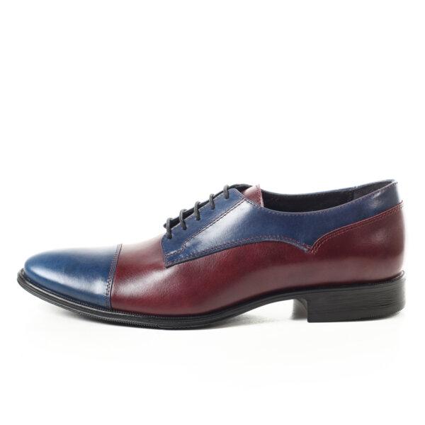 Мъжки обувки Maximmillian Dylan, Син и Бордо,