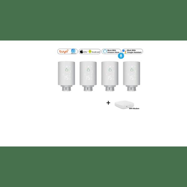 SoSmart Advanced Комплект за управление на парно за Smart Home