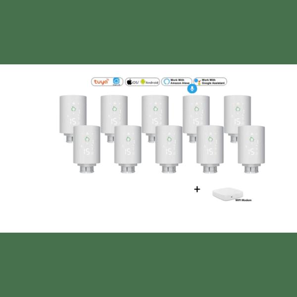 SoSmart Ultimate Комплект за управление на парно за Smart Home