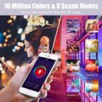 многоцветна smart крушка 7W