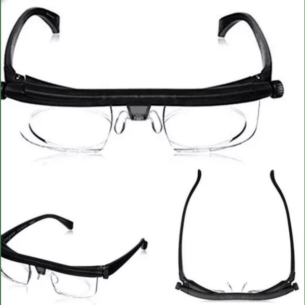Очила с лупа