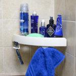 Издръжлива ъглова стойка за баня SnapUp