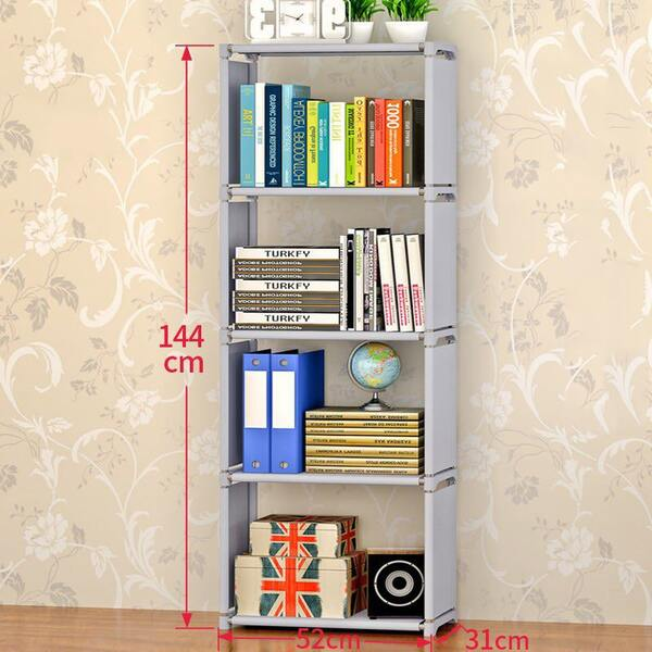 Мултифункционална пластмасова етажерка за вашата стая