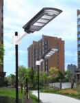 Соларна лампа с датчик за движение 60W