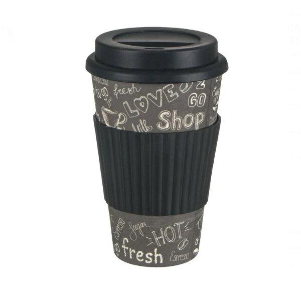 Чаша за кафе от бамбук 450 мл