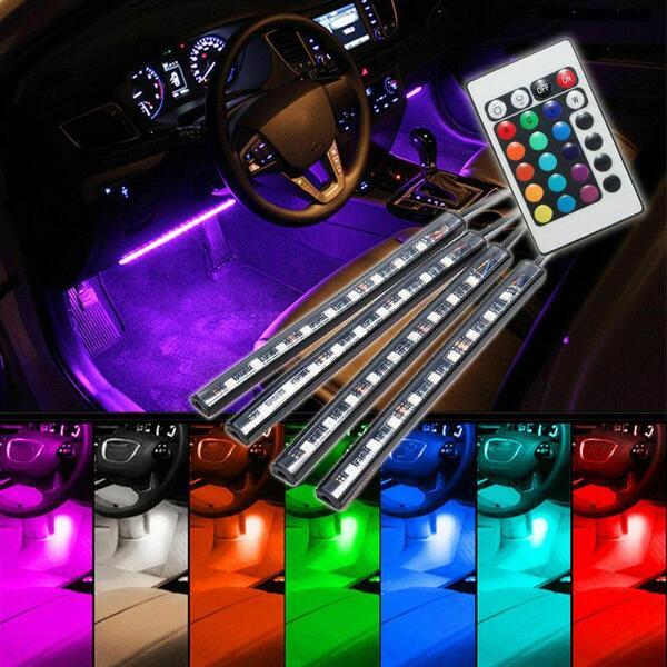 LED ленти за вътрешно осветление на кола