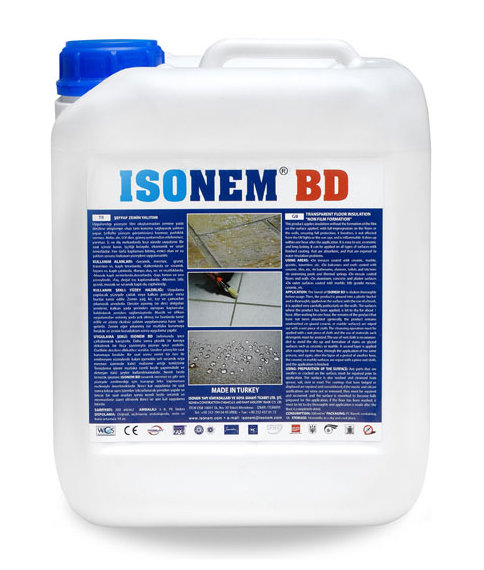 BD -Прозрачна хидроизолация на подове 5л