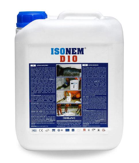 D10 LATEX - Предотвратява образуването на студени фуги в бетона 5кг