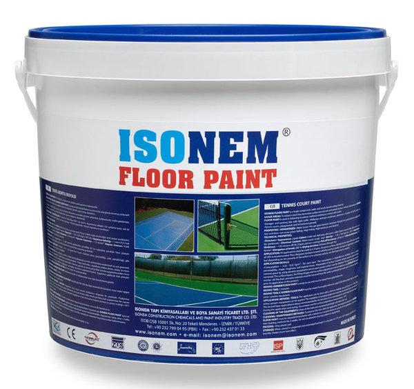 FLOOR PAINT - Еднокомпонентен продукт на акрилна основа, еластично подово покритие 18кг