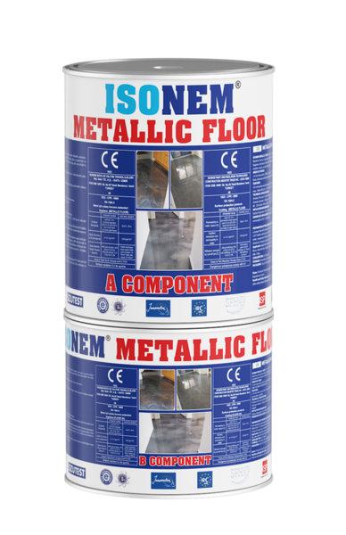METALLIC FLOOR - Саморазливно подово покритие с нисък вискозитет, без разредители 5кг
