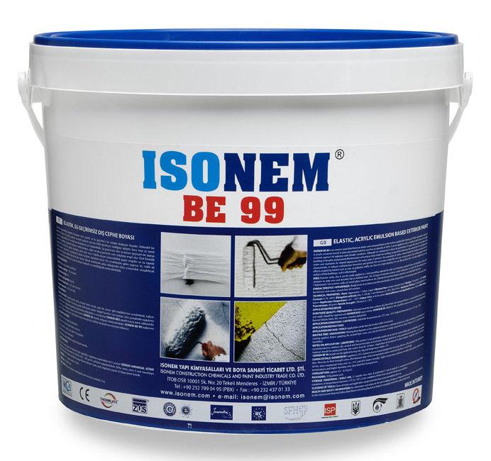 BE 99 - Супер еластична водоустойчива полимерна емулсия на водна основа