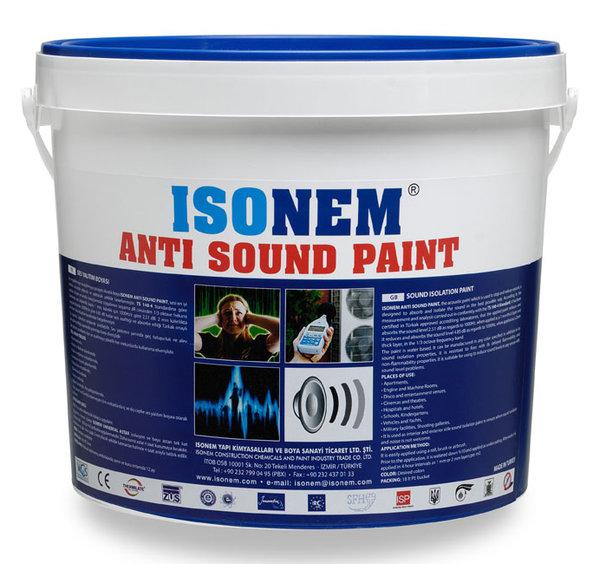 ANTI SOUND PAINT - Звукоизолационна боя 18кг