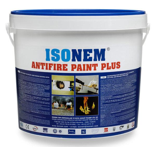ANTI-FIRE PAINT PLUS - Огнезащитна боя за структури от стомана, подсилен бетон и дървесина 18кг