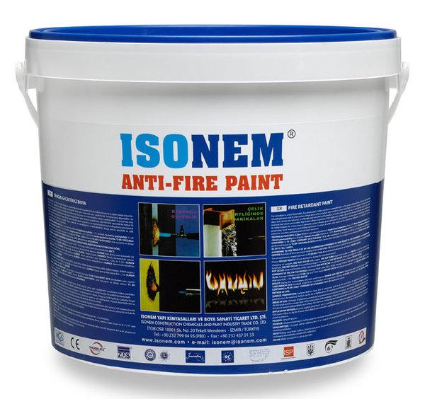 ANTI-FIRE PAINT - Огнезащитно завършващо покритие 18кг