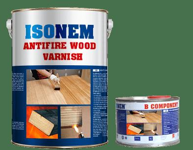 ANTIFIRE WOOD VARNISH - Огнезащитен лак за дърво 1.5кг