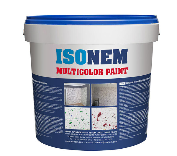 MULTICOLOR PAINT - Многоцветна декоративна боя 5кг