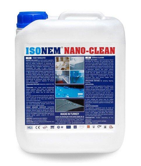 NANO-CLEAN - универсален почистващ препарат, който гарантира бързо, лесно и надеждно почистване 5л