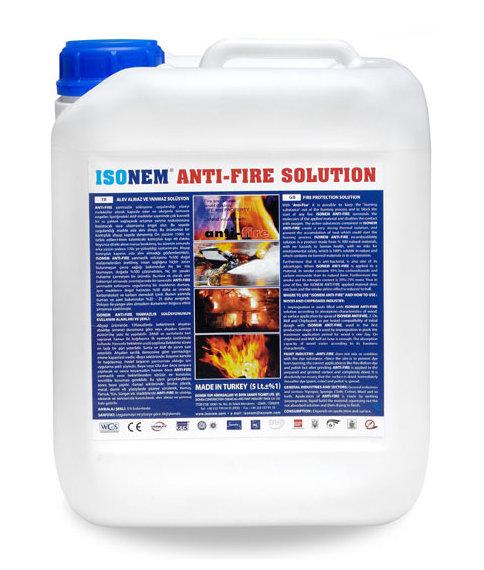 ANTI-FIRE SOLUTION - Огнеупорен импрегнатор 5л