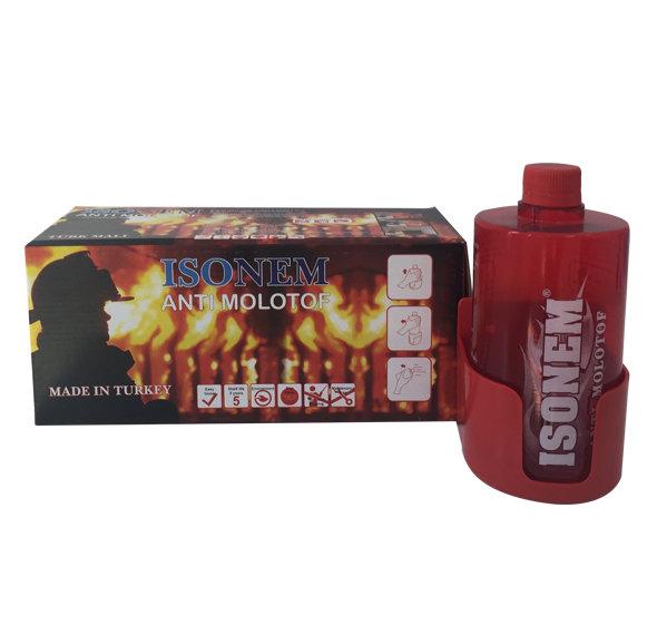 ANTI MOLOTOV - Свръх бърз и ефикасен пожарогасител за еднократна употреба 0,850кг