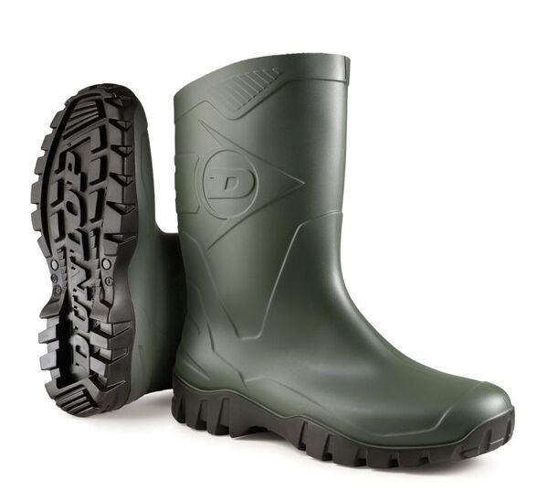 Cizme  de Cauciuc Dunlop - DEE ,Verde