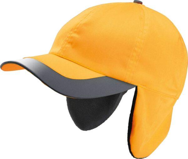 CAP DE IARN NEON, PORTOCALE