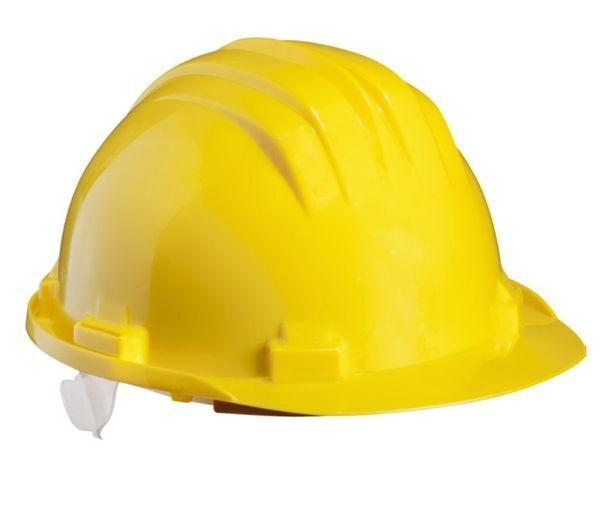 Cască protecție - GOLEM (galben)