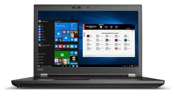 "Употребяван Lenovo ThinkPad P72 Intel Xeon E-2186M, 64GB RAM, 2TB SSD NVMe, 2TB HDD, Nvidia Quadro P5200 16GB, 17.3"" FHD, Windows 10 Pro WORKSTATION"