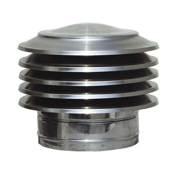 Шапка за комин Пагода, Инокс, Размер Φ80 - Φ300