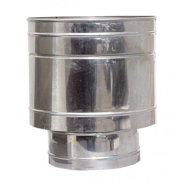 Шапка за комин Искроуловител-Френско варелче, Инокс, Размер (Φ100 - Φ300)