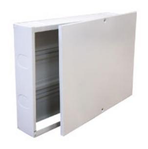 Колекторна кутия за външен монтаж, Заключване с ключ