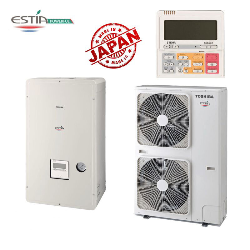 Инверторна термопомпа Toshiba