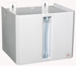 Cubic expansion vessel for open system