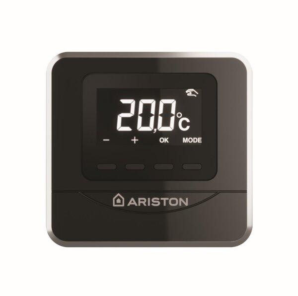 Ενσύρματος επίτοιχος θερμοστάτης χώρου Ariston Cube