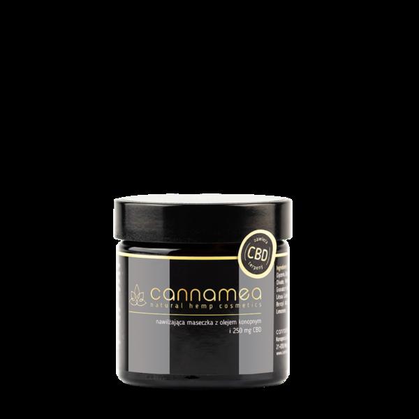 Хидратиращ крем за лице с конопено масло и 250 mg CBD