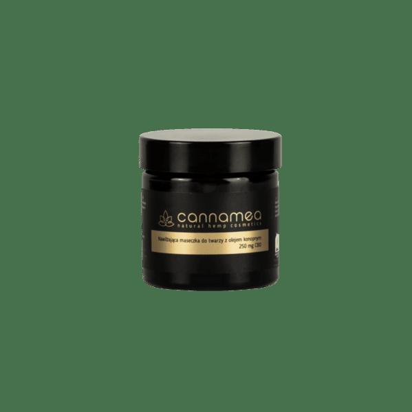 Хидратираща маска с конопено масло и 250 mg CBD
