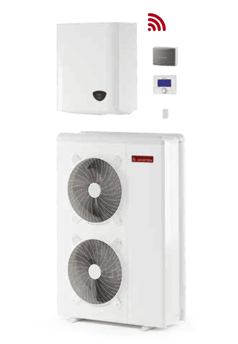 Термопомпа Ariston Nimbus Plus 110 S T NET-Copy
